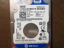 Western Digital WD5000LPVX-75V0TT0 DCM:HAKTJVB 500gb Sata (Donor for Parts)