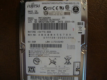 Fujitsu MHT2060BH CA06500-B156000T 07FFDB-0000104A 60gb Sata (Donor for Parts) NR0GT5827C8K