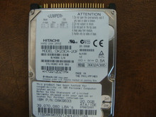 Hitachi DK23CA-20F B/A0B4 C/A AJ100 20.00gb IDE (Donor for Parts)