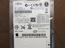 Fujitsu MHV2060BH PL CA06672-B39100AP 0BDD7B-0081702E Apple#655-1304A 60gb Sata