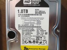 Western Digital WD1003FBYX-01Y7B0 DCM:HARNNTJCBB 1.0TB Sata (Donor for Parts)