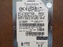 Hitachi HTS548040M9AT00 PN:08K0856 MLC:H69553 40gb IDE (Donor for Parts) MRL202L2JM117B