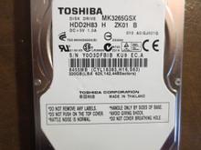 Toshiba MK3265GSX HDD2H83 H ZK01 S 010 A0/GJ001Q 320gb Sata