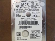 Hitachi HTS545050A7E362 PN:0J34245 MLC:DA5754 Apple#655-1730C 500gb Sata