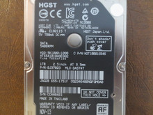 Hitachi HTS541010A9E662 PN:0J37023 MLC:DA5747 Apple#655-1751F 1000gb Sata