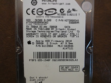Hitachi HTS545050B9A302 PN:0J13964 MLC:DA3846 Apple#655-1540F 500gb Sata