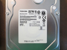 Toshiba MK2002TSKB HDD3B03CZK51 FW:MT2A Rev No.A1 2.0TB Sata (Donor for Parts)