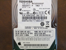 Toshiba MK5055GSXF HDD2H71 P TM01 T 010 D0/FH105B Apple#655-1552A 500gb Sata (Donor for Parts)
