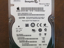 Seagate ST9320325ASG 9KAG33-042 FW:0008APM2 WU Apple#655-1571B 320gb Sata (Donor for Parts)