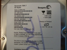 Seagate ST380011AS 9W2013-007 FW:3.00 TK 80gb Sata (Donor for Parts)
