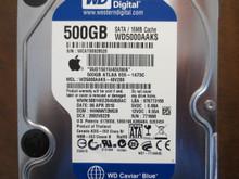 Western Digital WD5000AAKS-40V2B0 DCM:HHNNNT2MGB Apple#655-1473C 500gb Sata