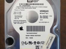 Western Digital WD5000AAKS-41TMA0 DCM:DHNCHV2MAB Apple# 655-1360A 500gb Sata