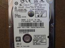 DA3846 320GB Hitachi MAC 655-1539F HTS545032B9A302 P//N 0J13963 MLC