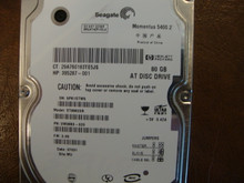 Seagate ST98823A 9W3883-020 FW:3.05 WU 80gb IDE (Donor for Parts)