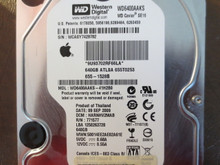 Western Digital WD6400AAKS-41H2B0 DCM:HARNHV2MAB Apple#655-1528B 640gb Sata (Donor for Parts)