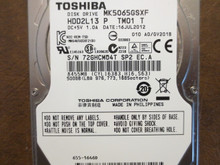 Toshiba MK5065GSXF HDD2L13 P TM01 T 010 A0/GV201B Apple#655-1646D 500gb Sata (Donor for Parts)