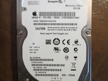 Seagate ST9500420ASG 9PSG44-040 FW:0006APM2 WU Apple#655-1554A 500gb Sata (Donor for Parts)
