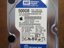 Western Digital WD5000AAKS-40V2B0 DCM:DANNHT2MGB Apple#655-1473C 500gb Sata