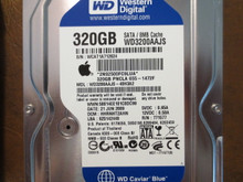 Western Digital WD3200AAJS-40H3A2 DCM:HHRNHT2AHN Apple#655-1472F 320gb Sata