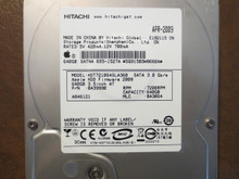 Hitachi HDT721064SLA360 PN:0A39990 MLC:BA3064 Apple#655-1527A 640gb Sata