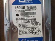 Western Digital WD1600AAJS-40H3A2 DCM:DGRNHT2ABN Apple#655-1470D 160gb Sata