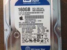 Western Digital WD1600AAJS-40H3A2 DCM:HGRNNT2AAN Apple#655-1470D 160gb Sata