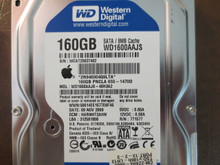 Western Digital WD1600AAJS-40H3A2 DCM:HARNHT2AHN Apple#655-1470D 160gb Sata