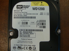 WD WD1200JB-00GVC0 DCM:HSCHCTJAA 120gb IDE/ATA (Donor for Parts)