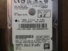 Hitachi HTS547575A9E384 PN:0J25313 MLC:DA4612 Apple#655-1684B 750gb Sata