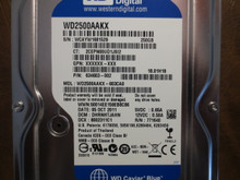 Western Digital WD2500AAKX-603CA0 DCM:DHRNHTJAHN 250gb Sata (Donor for Parts)