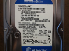 Western Digital WD2500AAKX-603CA0 DCM:DHNNHTJMHN 250gb Sata (Donor for Parts)