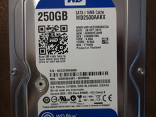 Western Digital WD2500AAKX-00ERMA0 DCM:HHRNHTJAHB 250gb Sata (Donor for Parts)