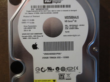 Western Digital WD2500AAJS-40VWA1 DCM:HHRNHTJMHN Apple#655-1358D 250gb Sata (Donor for Parts)
