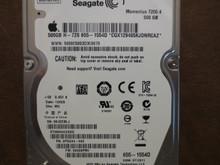 Seagate ST9500420ASG 9PSG44-042 FW:0009APM1 WU Apple#655-1554D 500gb Sata