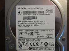 Hitachi HDS722020ALA330 PN:0F10501 MLC:JPK23N Apple#655-1563A 2.0TB Sata