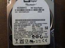 """Western Digital WD2500HHTZ-04N21V0 DCM:EHCVJH 250gb 2.5"""" Sata HDD"""