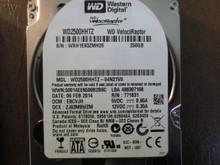 """Western Digital WD2500HHTZ-04N21V0 DCM:EBCVJH 250gb 2.5"""" Sata HDD"""