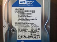 Western Digital WD800AAJS-60M0A1 DCM:DGRNNTJCHN 80gb Sata