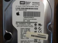 Western Digital WD6400AAKS-41H2B0 DCM:HHNNHVJMH Apple#655-1528B 640gb Sata
