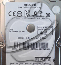 "Genuine Hitachi Apple Logo 2.5"" 500gb Sata MacBook Pro Mac Mini Laptop HDD"