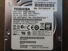 Toshiba MQ01ABF032 HDKCB07E0A02 T AAE AA01/AM001J 320gb Sata