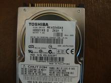 Toshiba MK4026GAX HDD2193 D ZK01 T 630 A0/PA102D 40gb IDE  (Donor for Parts) 85LS2539T