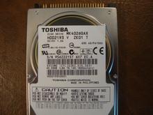 Toshiba MK4026GAX HDD2193 V ZK01 T 630 A0/PA100U 40gb IDE  (Donor for Parts) 956Z2215T