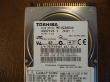 Toshiba MK4026GAX HDD2193 V ZK01 T 630 A0/PA100U 40gb IDE  (Donor for Parts) 957F4948T