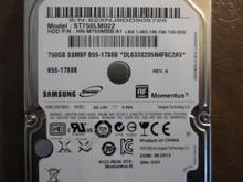 Samsung ST750LM022 HN-M750MBB/A1 REV.A DGT Apple#655-1788B 750gb Sata