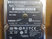 Samsung ST500LM012 HN-M500MBB/A REV.A DGT Apple#655-1786A 500gb Sata