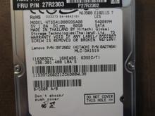 Hitachi HTS541080G9SA00 PN:0A27464 MLC:DA1519 80gb Sata
