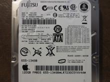 Fujitsu MHW2120BH CA06820-B38800AP 0FFF6A-00810013 Apple#655-1349B 120gb Sata