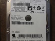 Fujitsu MHZ2120BH G1 CA07018-B57300AP 0FFD3D-00810009 Apple#655-1512A 120gb Sata