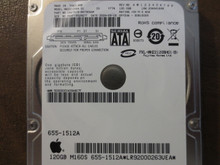 Fujitsu MHZ2120BH G1 CA07018-B57300AP 0FFD3A-00810009 Apple#655-1512A 120gb Sata